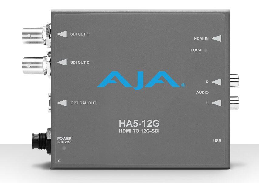 Aja tilbyder nu HDMI2 til SDI i op til 4K HDR i 444 der kan forlænges med 10KM fiber