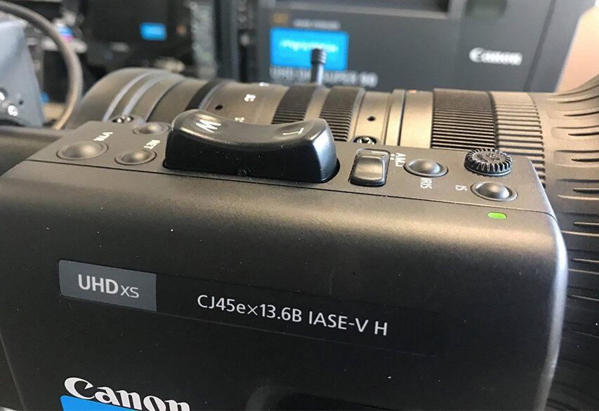 Minitech har fået et par lange UHD 4K Canon zooms i udlejningen