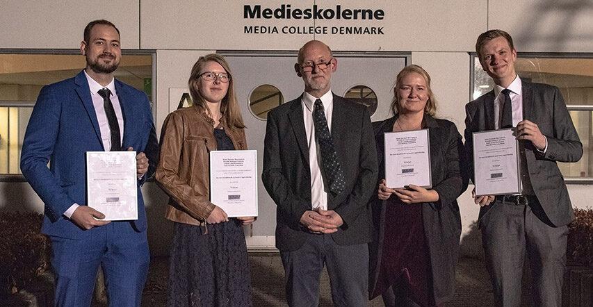 14 nye FTPere ude fra Medieskolerne i Viborg de banker garanteret snart på din dør