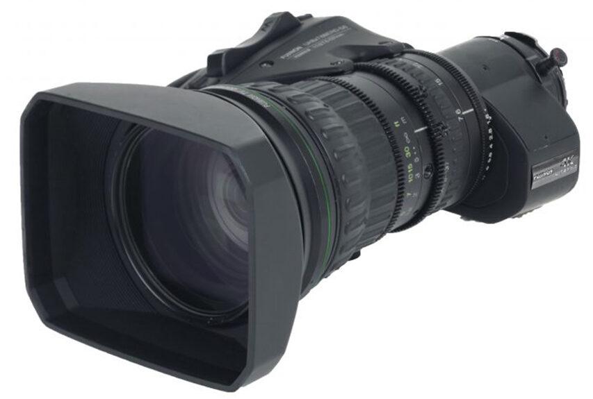 Fujinon bryder igen lydmuren for ZoomRange med B4 mount deres X125 er født til UHD produktion