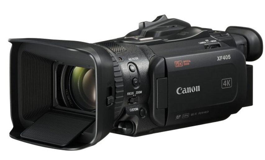 Canons XF400 serie er blevet FW opdateret så det nu kan streame i 1080P i en h264 strøm