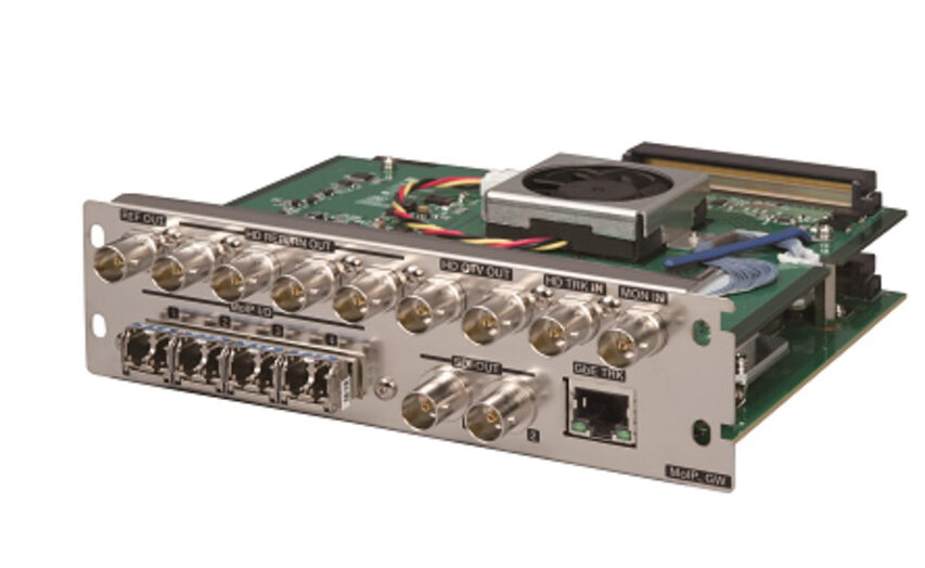 Ikegami tager på NAB2019 med boks der konverterer CCU til IP bokse - nyt om 8K og sikkert mere