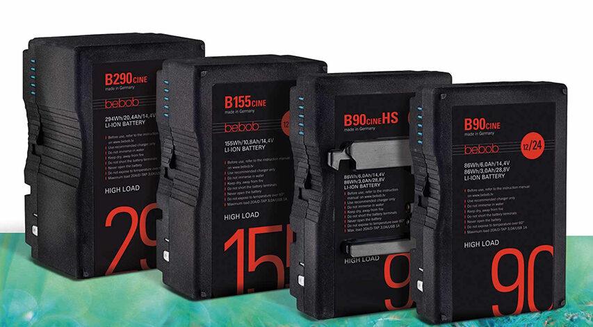 Arri og bebob indgår samarbejde om B-mount batterier der kan føde cine kameraer med 24volt
