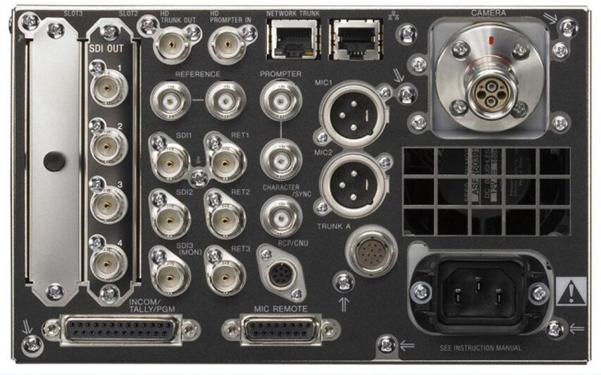 Nye kameraer og CCUer fra Sony - nu med global shutter og wireless option