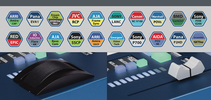 Skaarhoj frigiver ny RCP der kan styre  et eller flere EVA1er - betyder ekstremt budgetvenlige multikamera produktioner