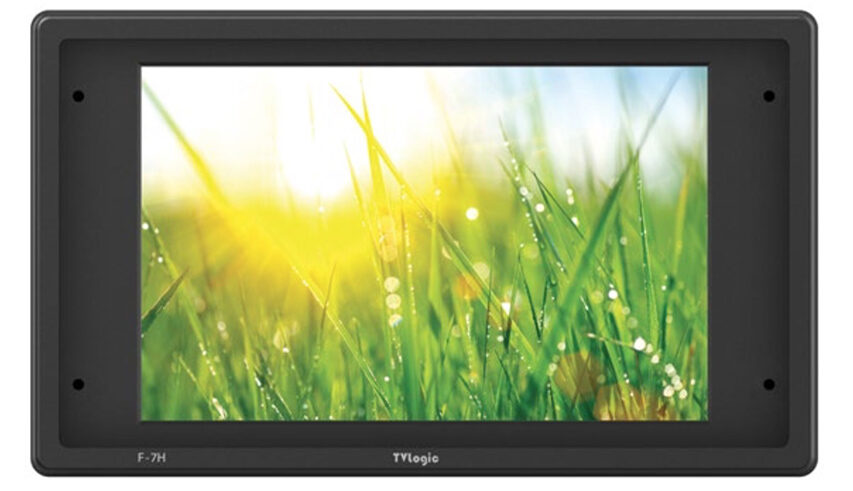 Ny 7 tommers TV Logic monitor med vilde 3600 Nits