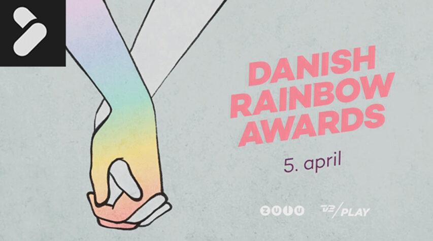 Zulu sender Danish Rainbow Awards show på fredag - det er første gang