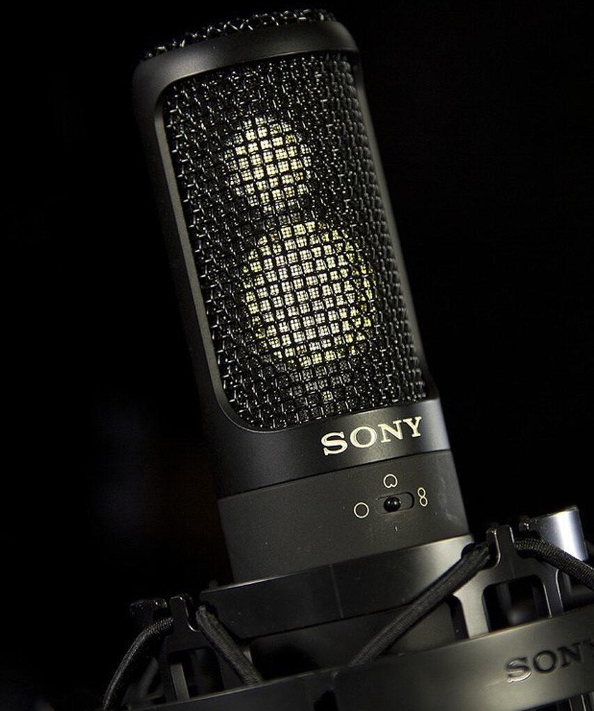 Nyere Sony studie mic - der skulle lyde næsten lige så godt som C800