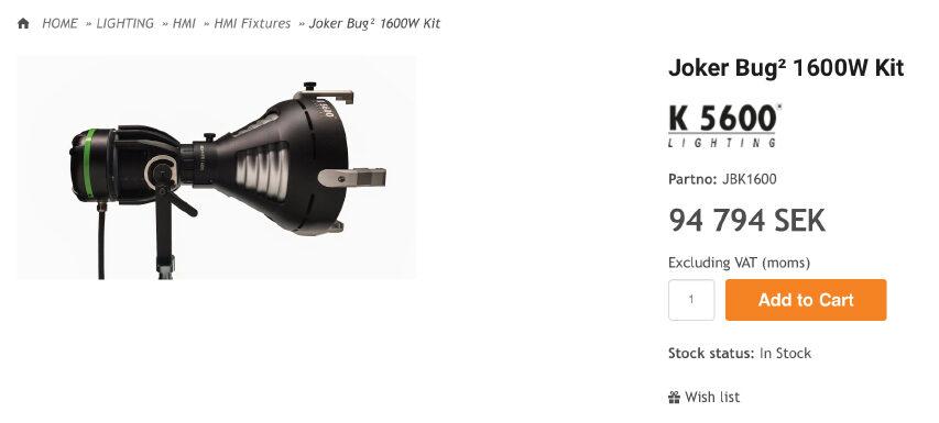 K5600 har endeligt taget hul på LED - deres lys er endog meget heldig - måske deres nyheder også er det