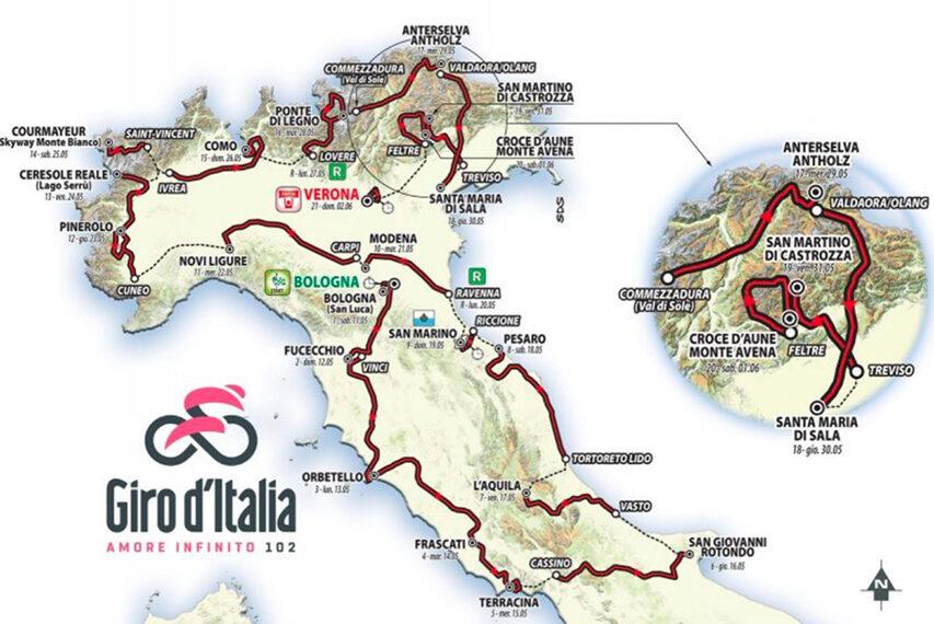 Der skal cykles rigtigt meget på TV denne sommer Giro d'Italia er det første af flere løb