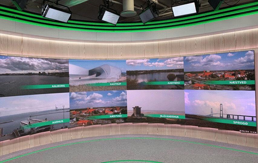 TV2 har fået nyt vejrstudie der producerer vejret til hovedkanalen regionerne og News