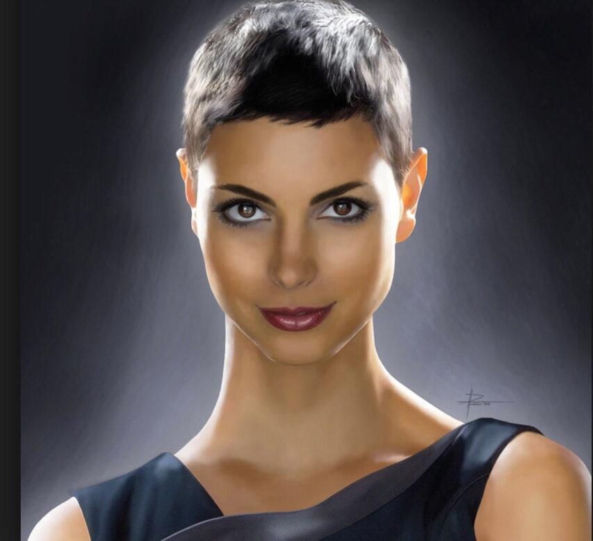Vi er ret sikre på at Morena Baccarin er belvet valgt som den ledende spiller fordi hun var en alien i V