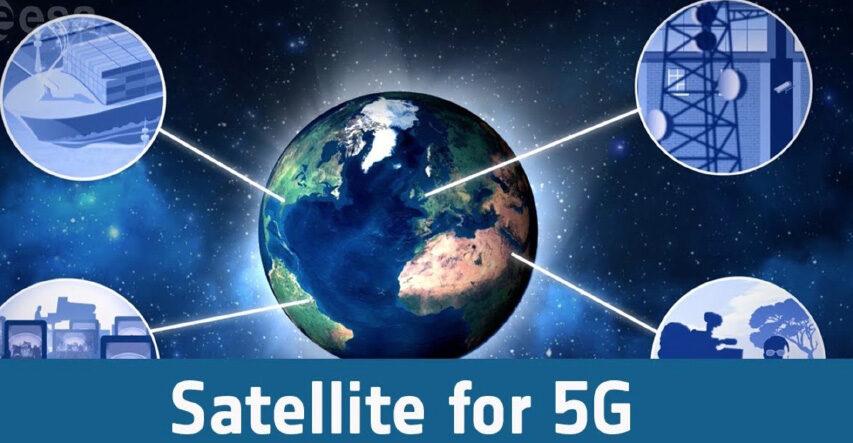 5G er nu reelt på satellitten - hvilket giver et utal af fordele også for broadcastmiljøet