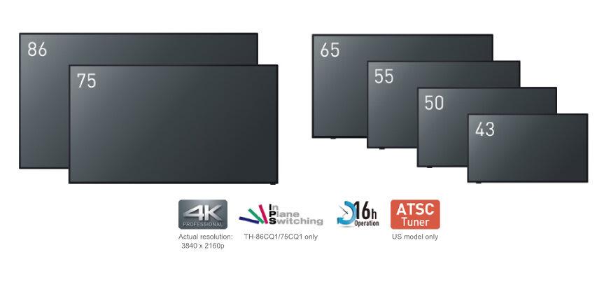 Panasonic kan nu levere de paneler de viste frem på ISE2019 - kommer i august og i september