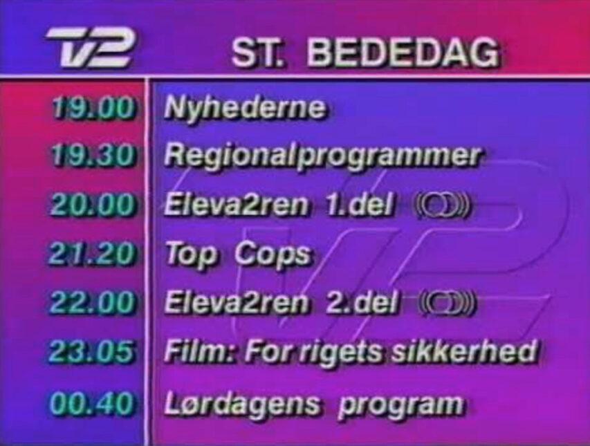 DR og TV2s online platforme får ikke plads i fremtiden program oversigter - de kommer til alene at leve online uden omtale i aviserne