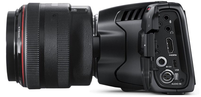 Blackmagic frigav igår deres nye Pocket Cinema Camera der nu er et 6K S35mm kamera