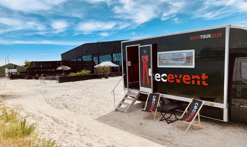CEC eventbureau tager rundt i landet for at opsøge kunder i deres nye mobile kontor