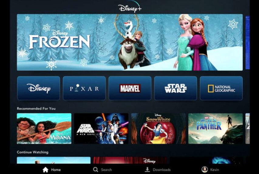 Disney+ åbner globalt på alle platforme den 12th november