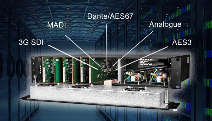 NTP tager på IBC2019 for at vise deres Penta 720 og Penta 721 frem - de kan de hele og fungerer som bridge fra audio til broadcast
