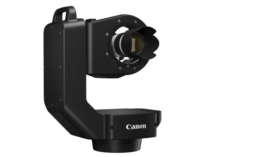 Canon på vej med PTZ løsning der kan fjernstyres - men ikke bruges til video