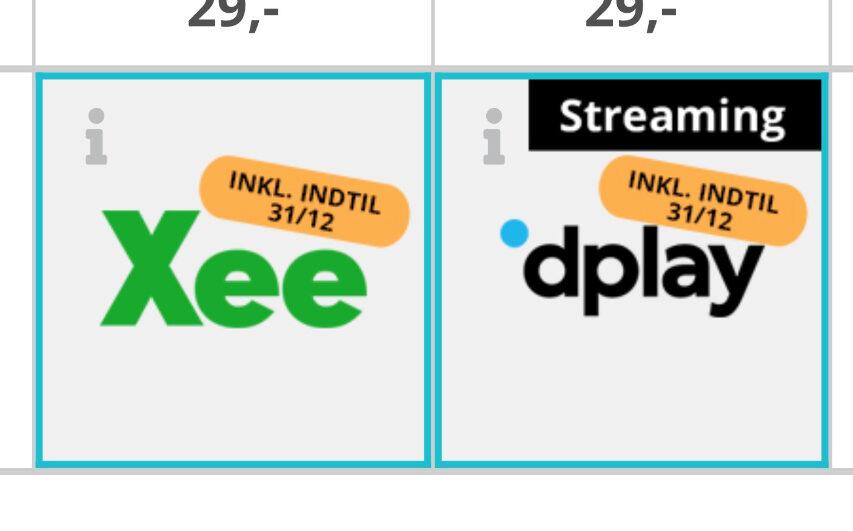 Xee er nu ude hos alle andre udbydere - som TV kanal