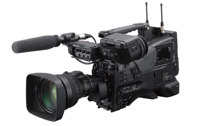Sony frigiver XDCAM der kan optage i op til 300mbits Intra - er udstyret med Global Shutter