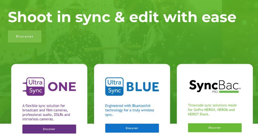 Atomos har købt Timecode Systems det betyder at enkelte ældre og flere nye produkter kan modtage TC via RC