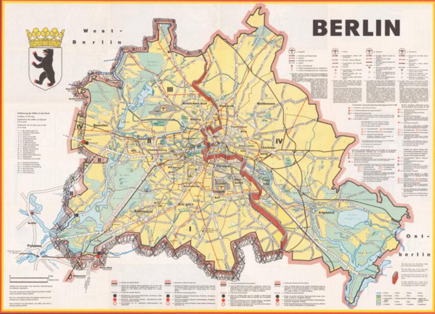 Bade Dr Og Tv2 Markerer Berlinmurens Fald Medier I Relation