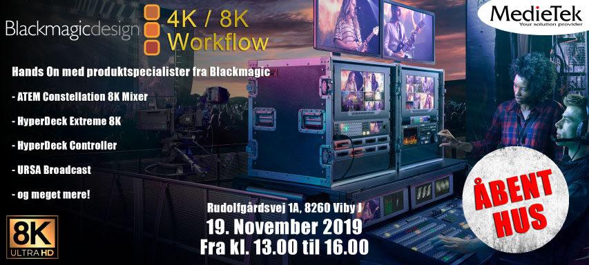 Blackmagic er på tour - viser deres gear frem hos MedieTek den 19 november