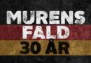 Både DR og TV2 markerer Berlinmurens fald