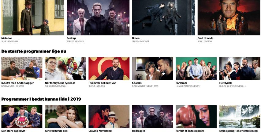 DRTV er flyttet ind på Waoos  TV-boks - DR2Plus følger efter engang i det nye år