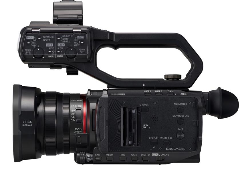 Nyt Compact Handheld fra Panasonic - AG-CX10 ligner et 422 10bit VJ hit