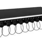 Ny 12 ind 1U SMPTE fiber Camera Patchbay